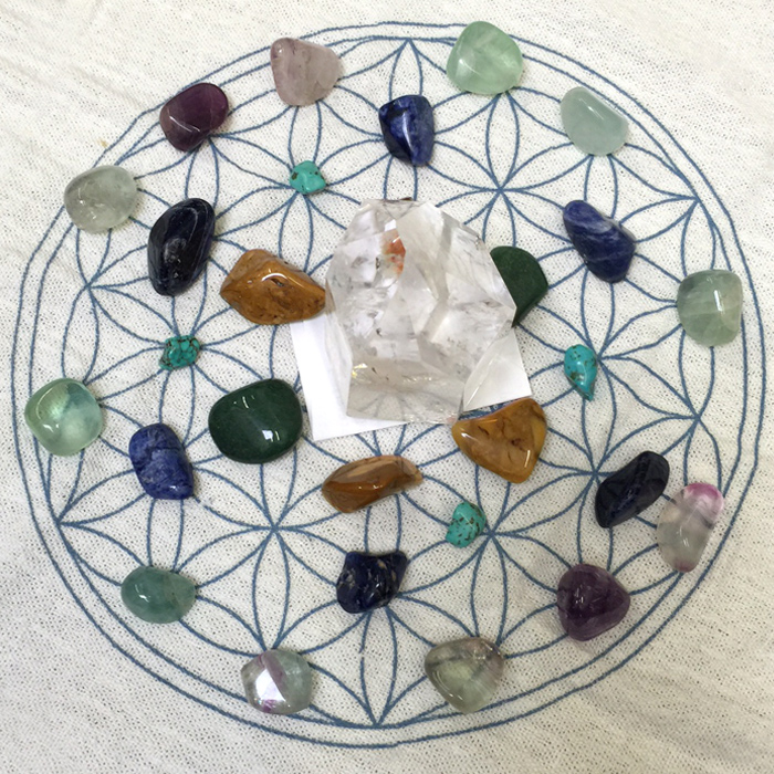 Tools of Divination - CRYSTAL GRID WORK